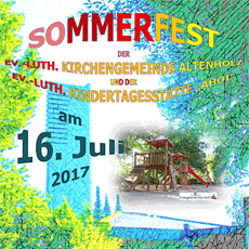 Feiern im Sommer– ein Fest für alle!