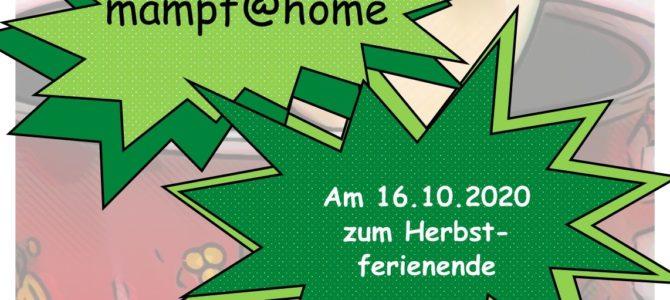 Familienmampf@home zum Ende der Herbstferien